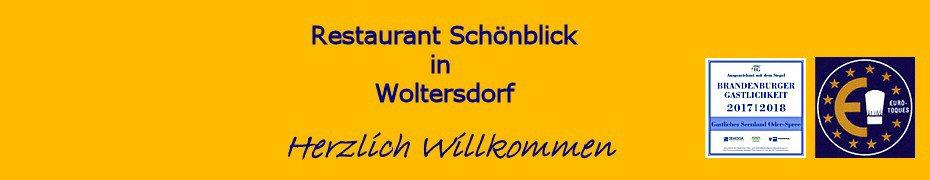 restaurant sch nblick in woltersdorf home. Black Bedroom Furniture Sets. Home Design Ideas